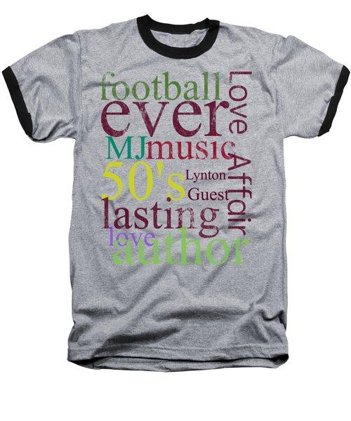 Lynton Guest Baseball T-Shirt by D Francis