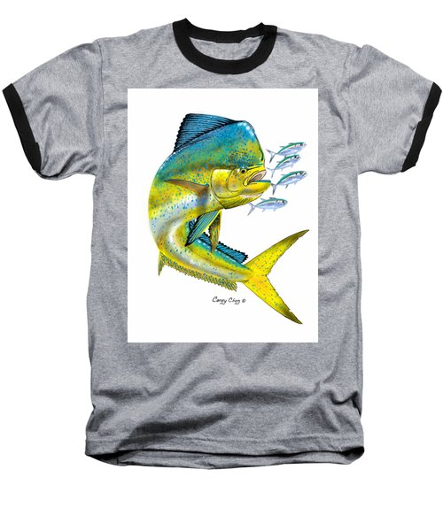 Mahi Digital Baseball T-Shirt by Carey Chen