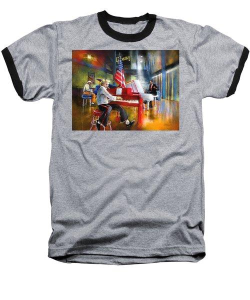 Memphis Nights 04 Baseball T-Shirt by Miki De Goodaboom