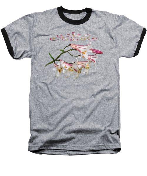 Midnight Radiance Baseball T-Shirt by Gill Billington