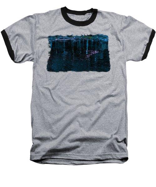 Midnight Spring Baseball T-Shirt by John M Bailey
