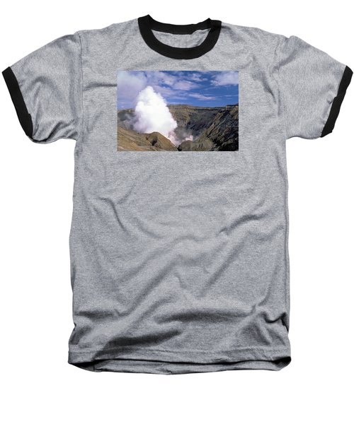Baseball T-Shirt featuring the photograph Mount Aso by Travel Pics