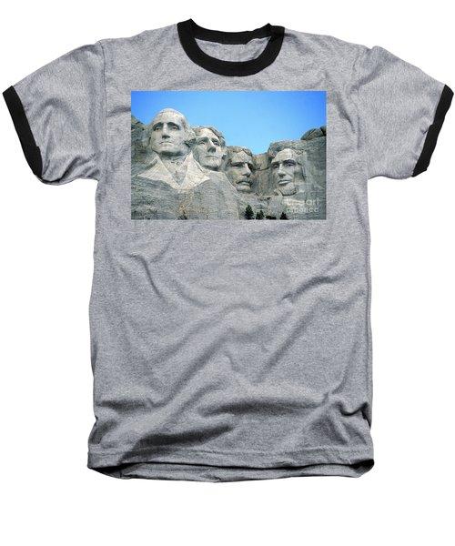 Mount Rushmore Baseball T-Shirt by American School