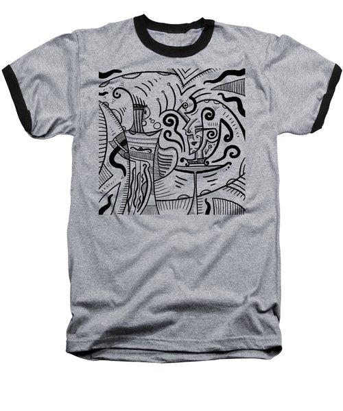 Mystical Powers Baseball T-Shirt by Erki Schotter
