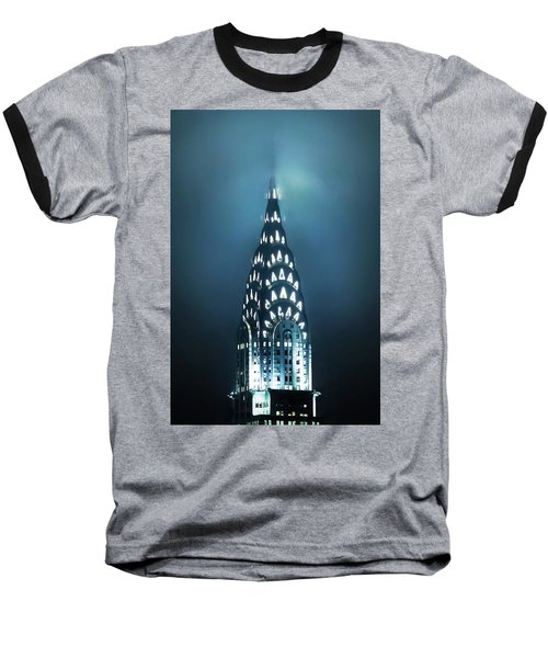 Mystical Spires Baseball T-Shirt by Az Jackson