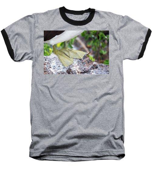 Nazca Booby Feet Baseball T-Shirt by Jess Kraft