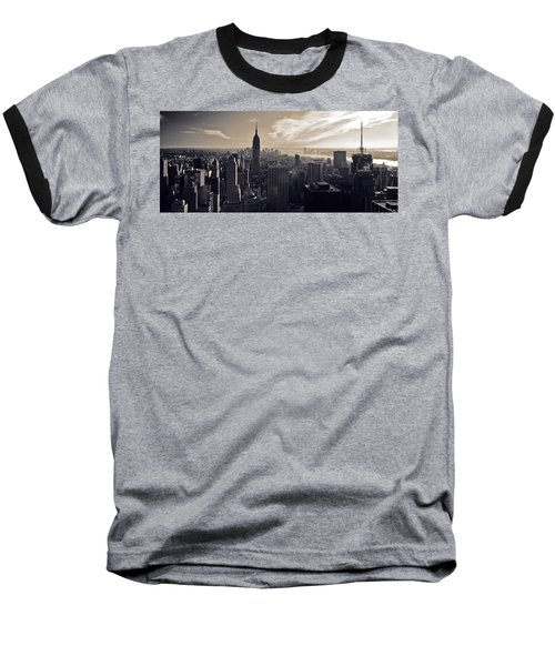 New York Baseball T-Shirt by Dave Bowman
