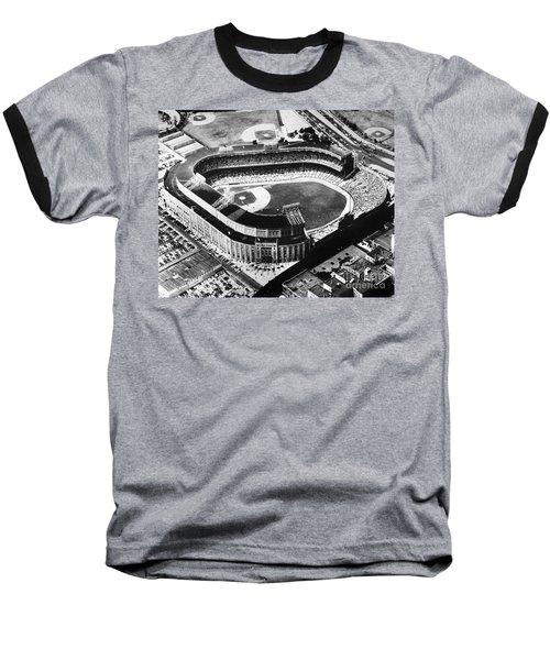 New York: Yankee Stadium Baseball T-Shirt by Granger