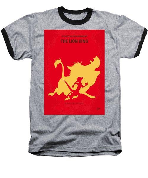 No512 My The Lion King Minimal Movie Poster Baseball T-Shirt by Chungkong Art