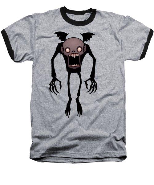 Nosferatu Baseball T-Shirt by John Schwegel