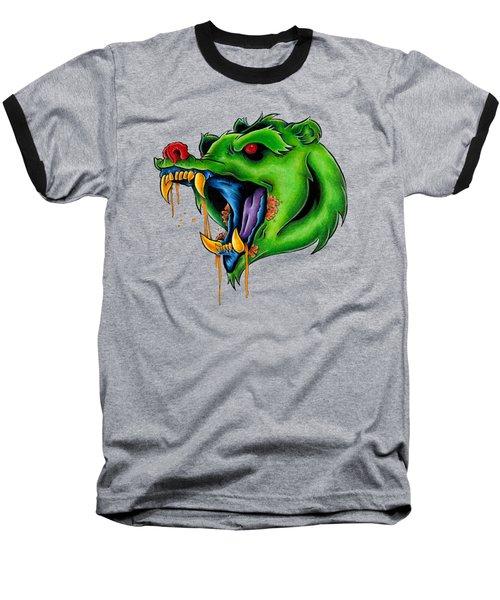 Not Yo Mama's Gummy Bear Baseball T-Shirt by Vicki Von Doom