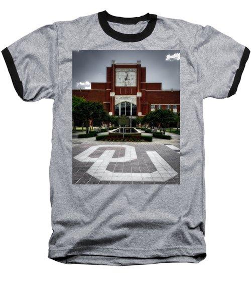 Oklahoma Memorial Stadium Baseball T-Shirt by Center For Teaching Excellence