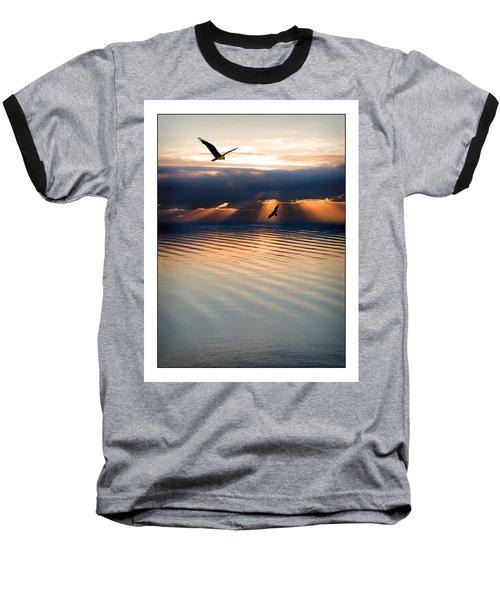 Ospreys Baseball T-Shirt by Mal Bray