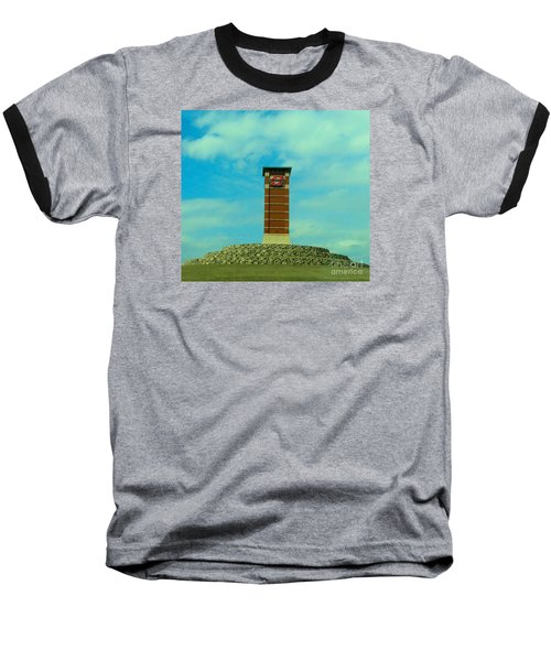 Oklahoma State University Gateway To Osu Tulsa Campus Baseball T-Shirt by Janette Boyd