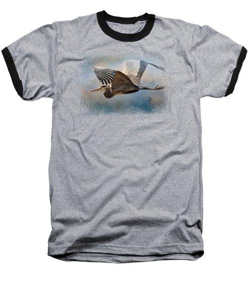 Over Ocean Skies Baseball T-Shirt by Jai Johnson