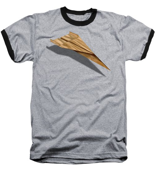 Paper Airplanes Of Wood 3 Baseball T-Shirt by YoPedro