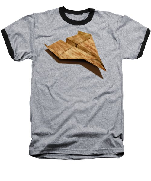 Paper Airplanes Of Wood 5 Baseball T-Shirt by YoPedro