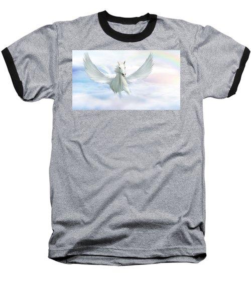 Pegasus Baseball T-Shirt by John Edwards