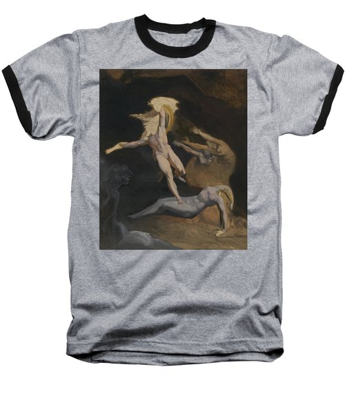 Perseus Slaying The Medusa Baseball T-Shirt by Henry Fuseli