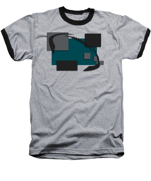 Philadelphia Eagles Abstract Shirt Baseball T-Shirt by Joe Hamilton