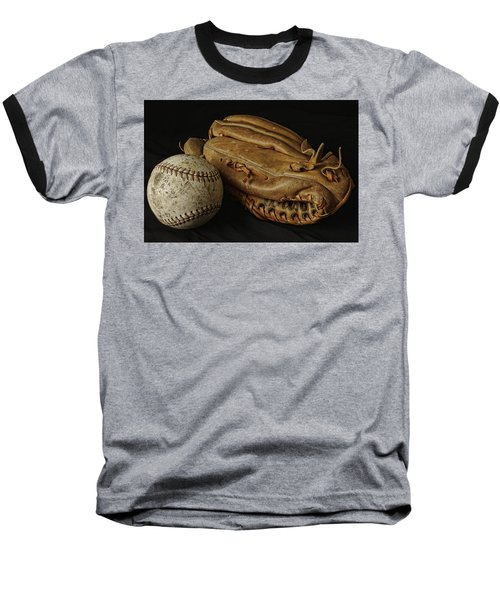 Play Ball Baseball T-Shirt by Richard Rizzo