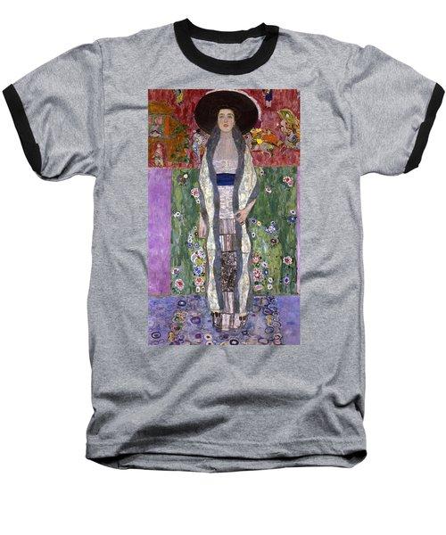 Portrait Of Adele Bloch-bauer II Baseball T-Shirt by Gustav Klimt