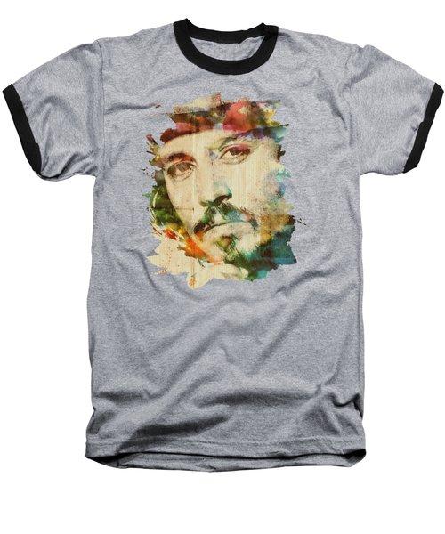 Portrait Of Johnny Baseball T-Shirt by Maria Arango