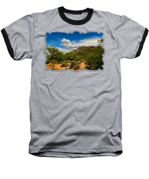 Pusch Ridge Vista H14 Baseball T-Shirt by Mark Myhaver