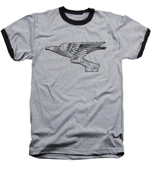 Radiator Cap Patent 1926 Baseball T-Shirt by Mark Rogan