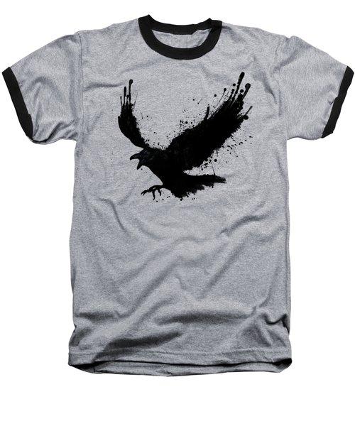 Raven Baseball T-Shirt by Nicklas Gustafsson