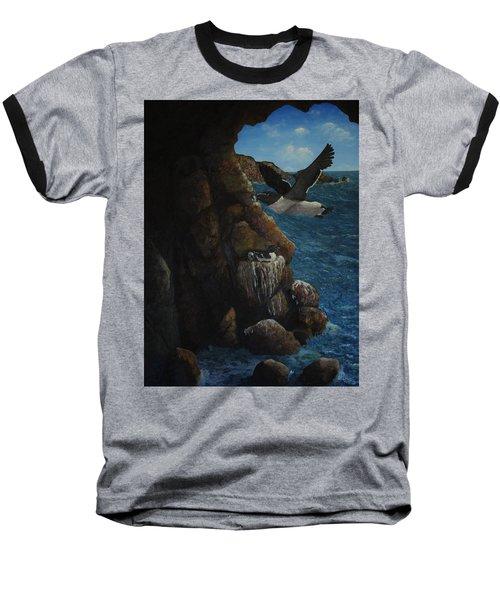 Razorbills Baseball T-Shirt by Eric Petrie