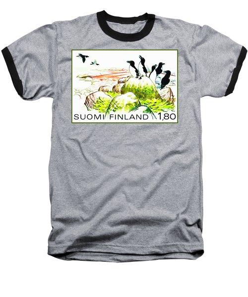 Razorbills Baseball T-Shirt by Lanjee Chee