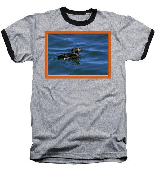 Rhinocerous Baseball T-Shirt by BYETPhotography