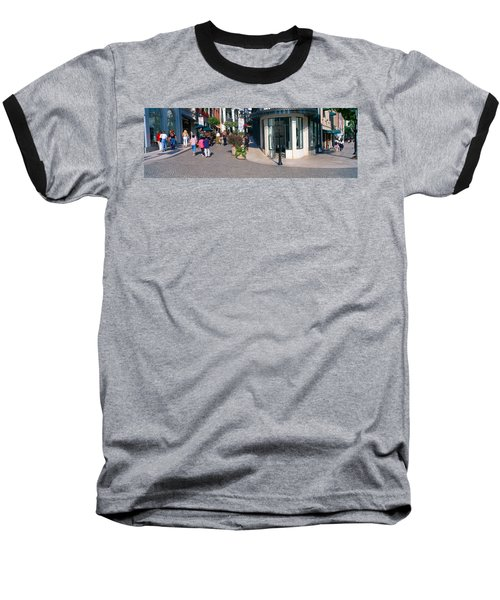 Rodeo Drive, Beverly Hills, California Baseball T-Shirt by Panoramic Images