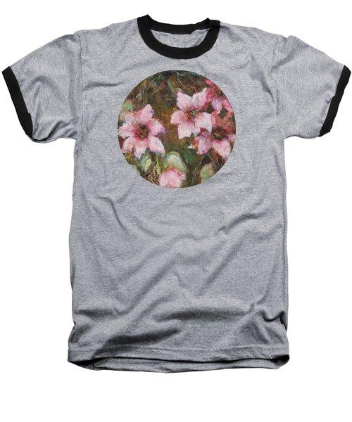 Romance Baseball T-Shirt by Mary Wolf