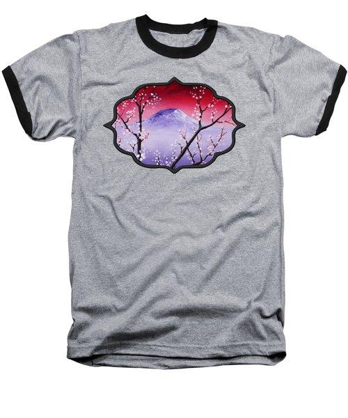 Sakura Baseball T-Shirt by Anastasiya Malakhova