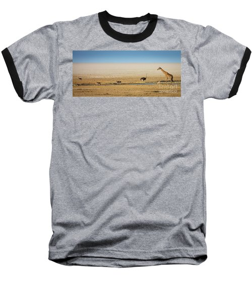 Savanna Life Baseball T-Shirt by Inge Johnsson