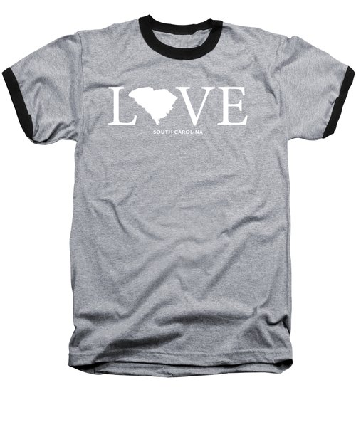 Sc Love Baseball T-Shirt by Nancy Ingersoll