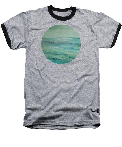Sea Glass Baseball T-Shirt by Mary Wolf