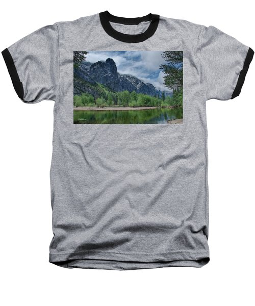 Sentinel Rock After The Storm Baseball T-Shirt by Bill Roberts