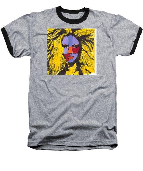Shakira Baseball T-Shirt by Zheni Mavromati