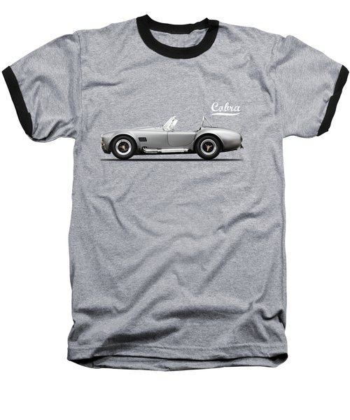 Shelby Cobra 427 Sc 1965 Baseball T-Shirt by Mark Rogan