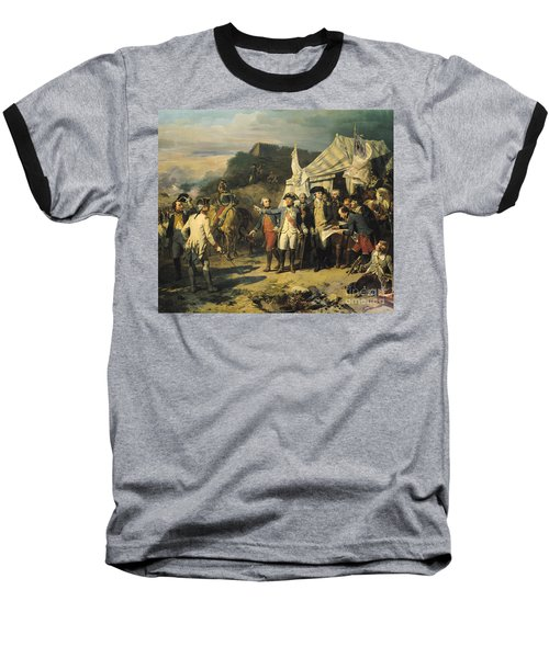 Siege Of Yorktown Baseball T-Shirt by Louis Charles Auguste  Couder