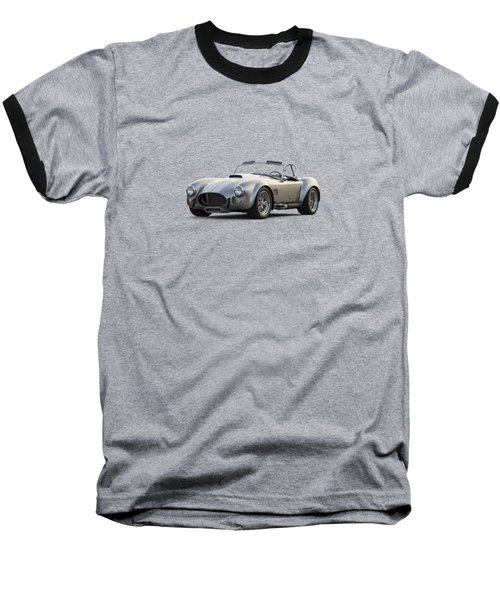 Silver Ac Cobra Baseball T-Shirt by Douglas Pittman