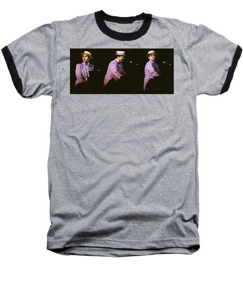 Sir Elton John 3 Baseball T-Shirt by Dragan Kudjerski