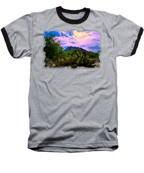 Sonoran Morning H54 Baseball T-Shirt by Mark Myhaver