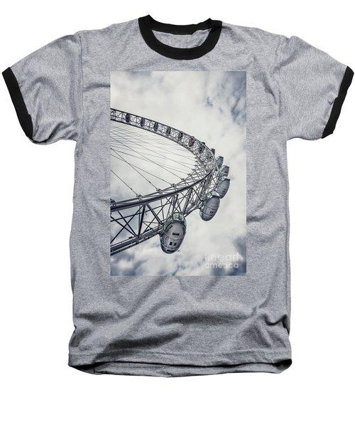 Spin Me Around Baseball T-Shirt by Evelina Kremsdorf