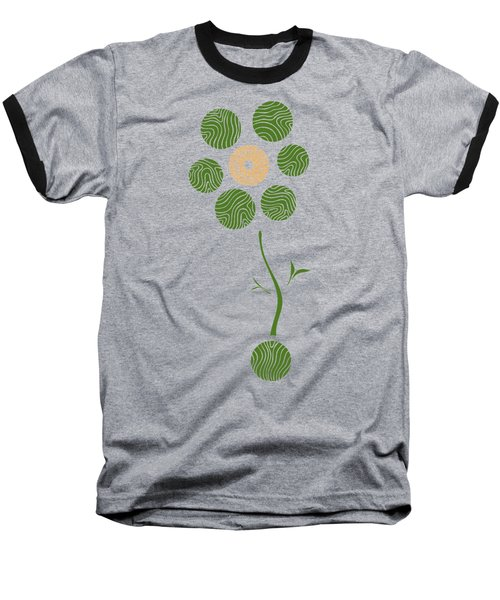 Spring Flower Baseball T-Shirt by Frank Tschakert