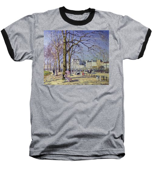 Spring In Hyde Park Baseball T-Shirt by Alice Taite Fanner