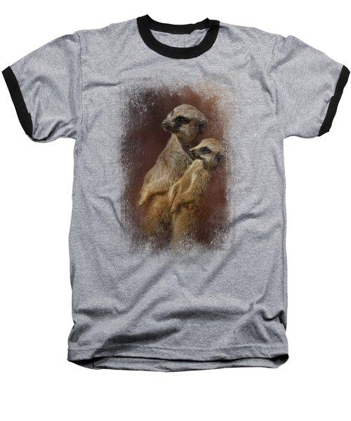 Standing At Attention Baseball T-Shirt by Jai Johnson